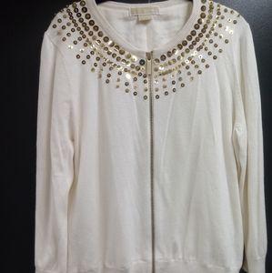 Michael Kors Zipper Sweater